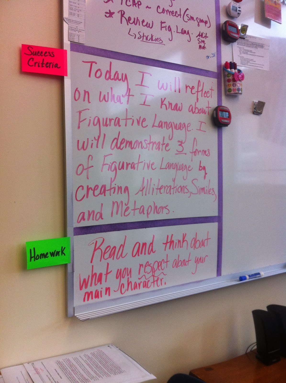 Adventures With The Woods Teaching Figurative Language